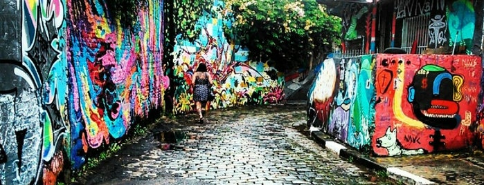 Beco do Batman is one of Sampa 460 :).