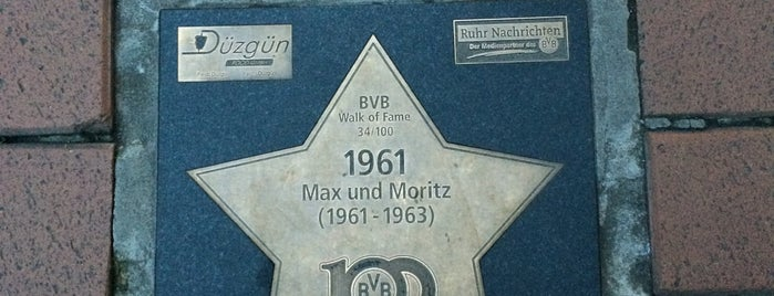 BVB Walk of Fame #34 1961 Max und Moritz (1961 - 1963) is one of BVB Walk of Fame.