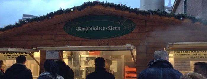 Spezialitäten aus Peru is one of Weihnachtsmärkte Ruhr.