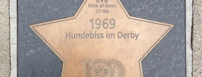BVB Walk of Fame #57 1969 Hundebiss im Derby is one of BVB Walk of Fame.
