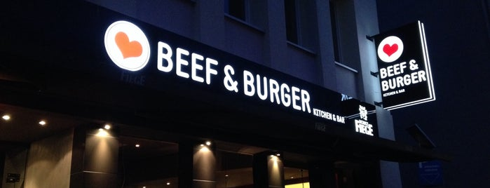 Beef and Burger is one of Locais salvos de Nayef.