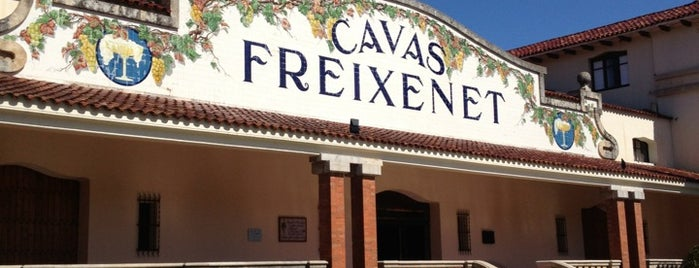 Cavas Freixenet is one of Barcelona.