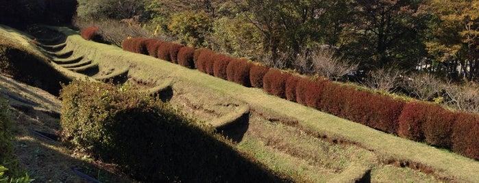 Yamanaka Castle Ruins is one of Orte, die 二背 gefallen.