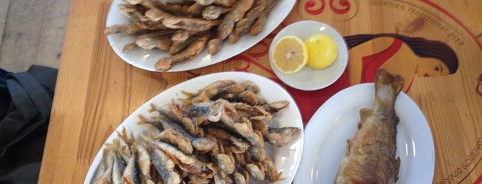 Fish Market | თევზის ბაზარი is one of Posti che sono piaciuti a Анна.