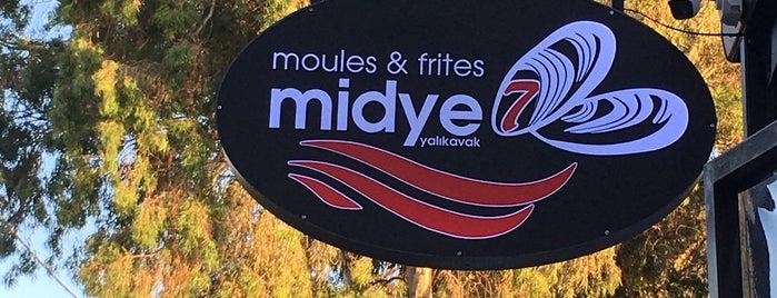 Midye7 is one of Damla : понравившиеся места.