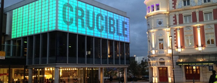 Crucible Theatre is one of Posti salvati di Flirtify.