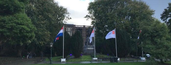 Van der Werfpark is one of Leiden.