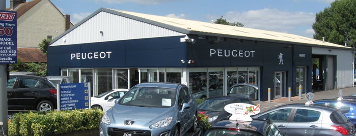 Perrys Aylesbury Peugeot is one of Orte, die Carl gefallen.