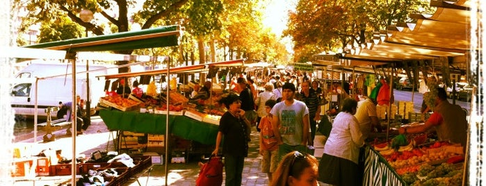 Marché Cours de Vincennes is one of Gay paree.