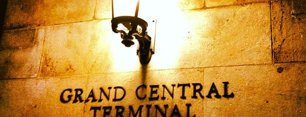 Grand Central Terminal is one of New York, New York.