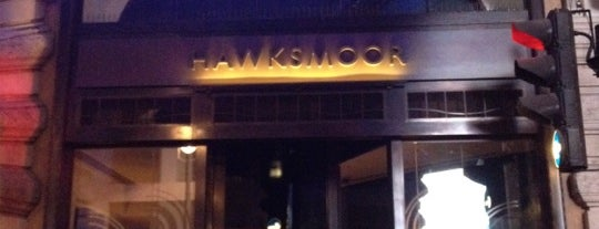 Hawksmoor Air Street is one of Lugares favoritos de Bhavani.