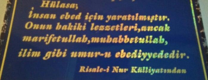 Said Nursi Hz. 7 Yil Konakladigi ev is one of Kstmn.