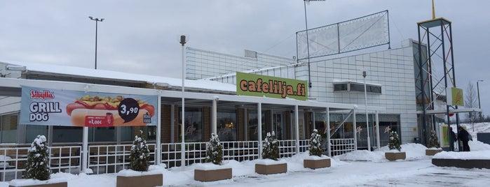 Café & Restaurant Lilja is one of Locais salvos de Salla.