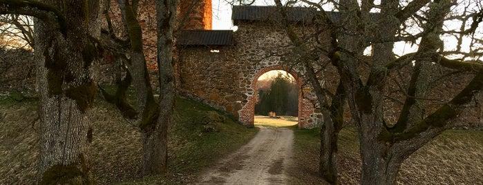 Karksi ordulinnuse varemed is one of Замки Прибалтики.