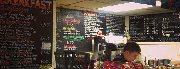 Snax Cafe is one of Edinburgh.