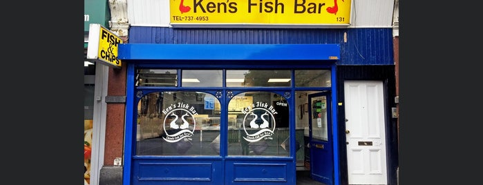 Ken's Fish Bar is one of Somebody Feed Phil, Netflix.