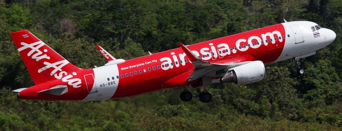 Thai AirAsia Flight FD 3187 NST-DMK is one of 2020 Sep. Nakhon Si Thammarat.