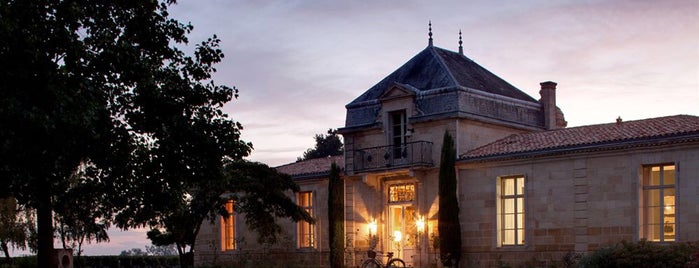Chateau Cordeillan-Bages is one of Bordeaux Michelin.