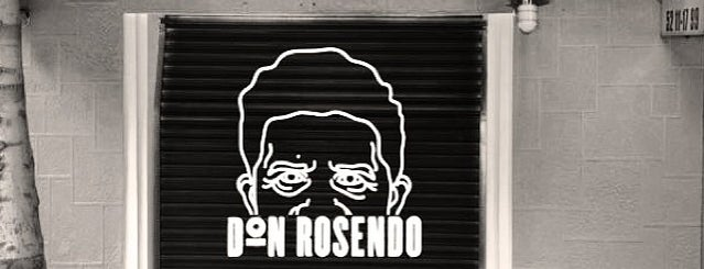 Don Rosendo is one of Bares.