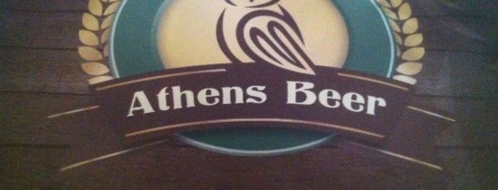 Athens Beer is one of Corfu Beer.