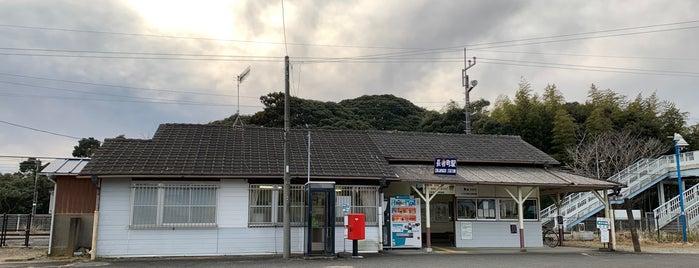 Chōjamachi Station is one of JR 키타칸토지방역 (JR 北関東地方の駅).
