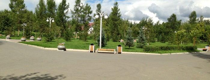 Парк им. 1 мая is one of Roman'ın Beğendiği Mekanlar.