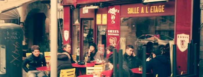 Le Broc' Café is one of Lyon bars / pubs / restaurant.