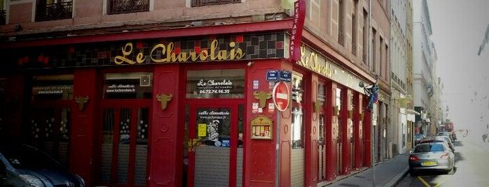 Le Charolais is one of Lieux qui ont plu à Francois.