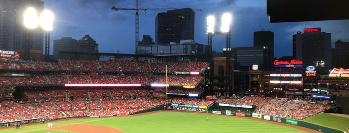 Budweiser Sign is one of St. Louis.