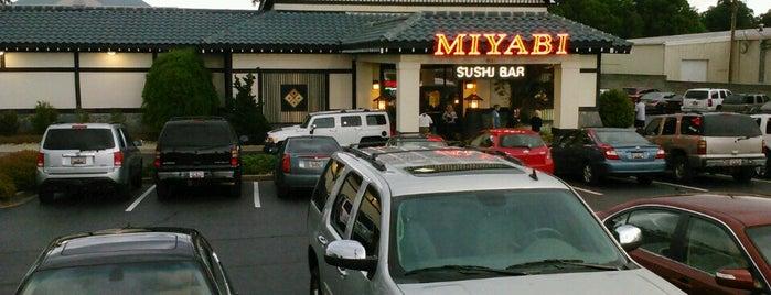 Miyabi Steak & Seafood House is one of Pelham/Patewood/Roper Mtn/Hudson area.
