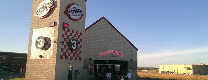 Jerry's Express Car Wash is one of Cheryl's Liked Places.