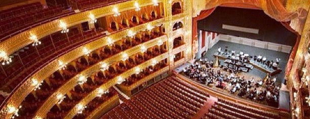 Teatro Colón is one of Lugares guardados de Carlos.