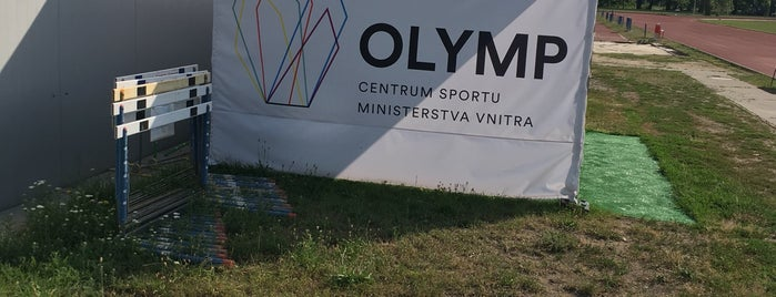 OLYMP Centrum sportu Ministerstva vnitra is one of Bee Heere.