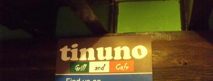 Tinuno Grill & Cafe is one of Lieux sauvegardés par iSA 💃🏻.