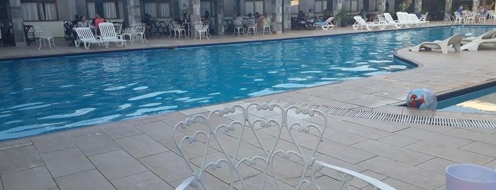 Nauticomar All Inclusive Hotel & Beach Club is one of สถานที่ที่ Helem ถูกใจ.