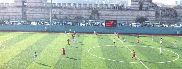 Namık Sevik Stadyumu is one of Posti che sono piaciuti a Güçlü.