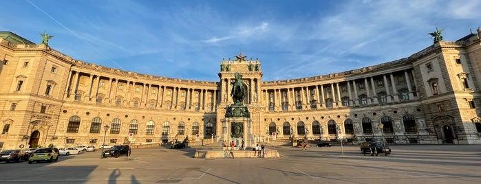 Neue Burg is one of Vienna.