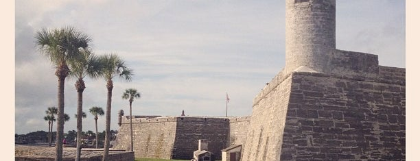 Castillo De San Marcos National Monument is one of St Augustine Florida.