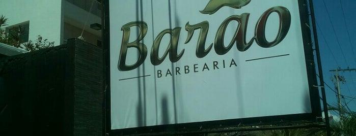 Barão Barbearia is one of Osvaldo'nun Beğendiği Mekanlar.