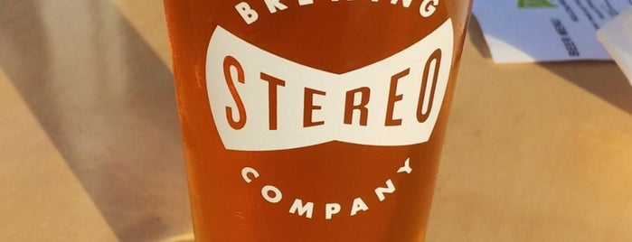 Stereo Brewing Company is one of Brewery.