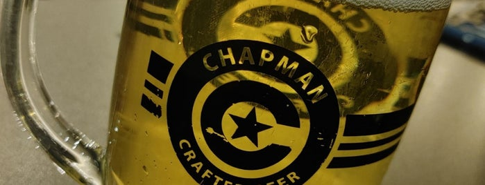 Chapman Crafted Beer is one of Orange County.