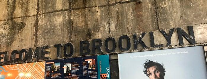 Downtown Brooklyn is one of สถานที่ที่ Jason ถูกใจ.