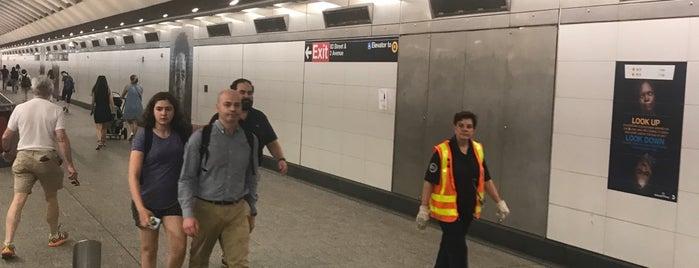 MTA Subway - 86th St (Q) is one of Lieux qui ont plu à Andrew.