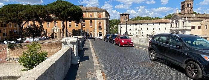 Ponte Cestio is one of ROME - ITALY.