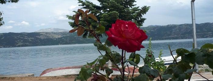 Eğirdir Fahri Bey Restaurant🐟 is one of Tempat yang Disukai Barış ☀️.