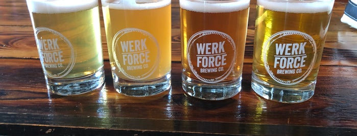 Werk Force Brewing Co. is one of ICBG Passport 2019.