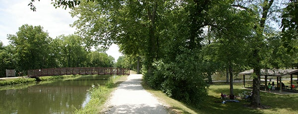 Illinois and Michigan Canal State Trail is one of Illinois State Parks.
