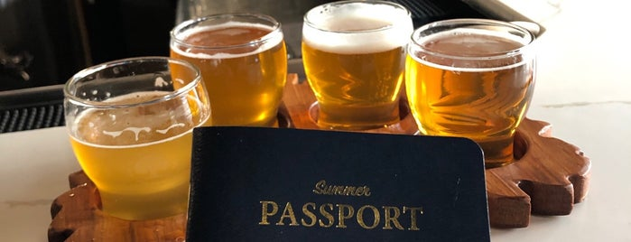 Elmhurst Brewing Company is one of ICBG Passport 2019.