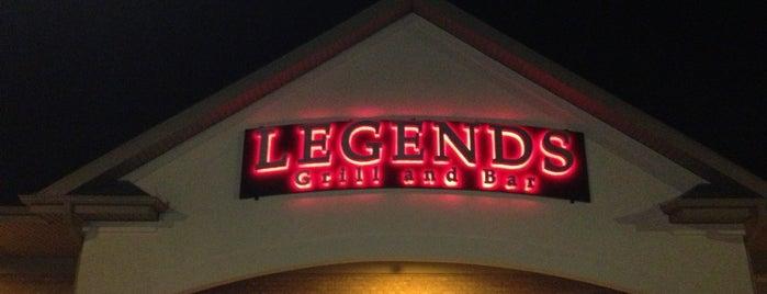 Legends Sports Bar is one of Gary 님이 좋아한 장소.