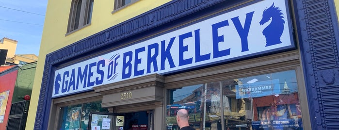 Games of Berkeley is one of To-Do!.